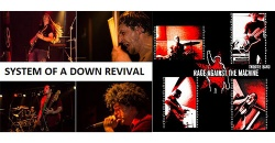 SYSTEM OF A DOWN revival + RAGE AGAINST THE MACHINE revival + HEAD2DOWN