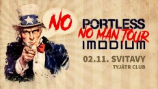 Koncert kapel IMODIUM & PORTLESS NO MAN TOUR 2018 SVITAVY